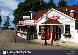 Wilson's Restaurant and Ice Cream Parlor is a popular restaurant ...