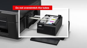 An ink refill lasts fro thousands of pages, including full color. Ecotank L1800 Epson