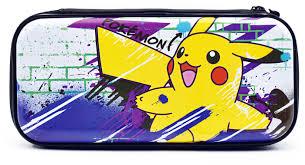 <b>Чехол</b> для игровой приставки <b>Hori Premium</b> vault case Pikachu ...