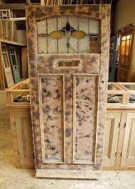 pretty reclaimed pine edwardian front door
