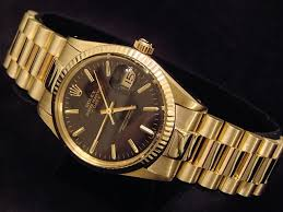 gold watches mens rolex best watchess 2017 mens rolex date 14k yellow gold watch w black dial 15037