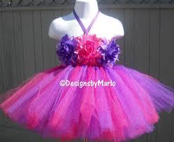 Hot Pink Tutu Dress Purple Tutu Dress Hot Pink Dress Purple Baby