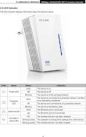 Tp Link 500mbps Powerline Adapter Lights Tlwpa4220v1 300mbps Wi Fi Range Extender Av500 Powerline