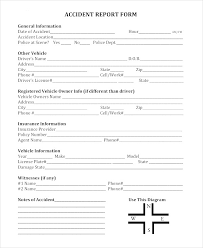 Police Incident Report Form Template 9 Police Report Examples