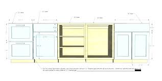 kitchen cabinet base desk height cabinets within prepare 5 charming in 6 3 drawer dimensions