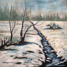 winter painting ideas 273 best the art sherpa free acrylic art lesson gallery images on