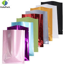 Variety of Sizes recyclable packing bag heat sealing open top ...