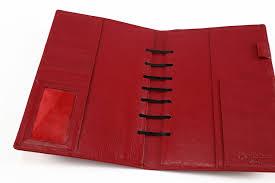 180 leather binders ringless binder