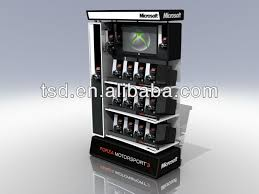 Custom Product Display Stands Tsdw40 Factory Custom Retail Store Video Game Display Standshop 1