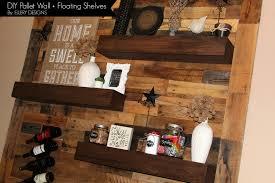 Floating Shelves In Dining Room Dining Room Remodel Pallet Wall Floating Shelves Ellery Designs 75