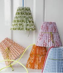 lamp shades covers diy pleated lampshade katy elliott 5