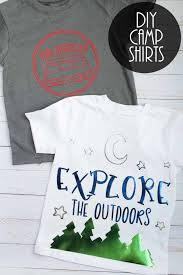 Please make sure that the software you use is compatible with an svg file. Camp Shirts With Svg Files The Country Chic Cottage