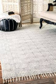 small oval rugs braided