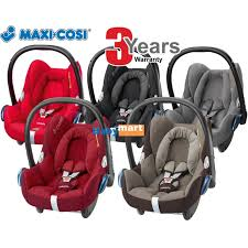 maxi cosi cabriofix carrier car seat 3 years warranty 11street malaysia carriers