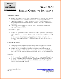4+ mission statement resume