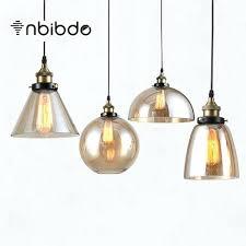 bell pendant light vintage pendant lights amber glass hanging bell pendant lamp light bulb dinning room bell pendant light