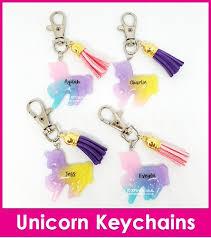 Unicorn Keychain : Stationery & Supplies - Qoo10