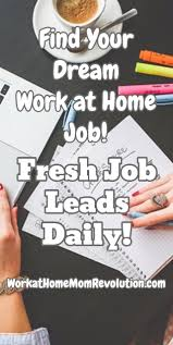 1000 ideas about home based jobs make money from find your dream work at home job fresh job leads daily this is a