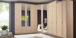 Corner Wardrobe Contemporary Wooden With Swing Doors Luxor 3