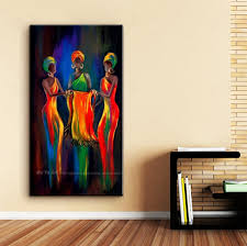 muya abstract painting canvas vertical oil painting on canvas african paintings decorative pictures for living room