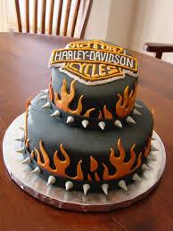 Harley Davidson Cake Decorations Birthday Cakes Images Dashing Harley Davidson Birthday Cake