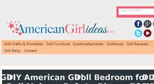 americangirlideas com screenshot