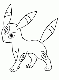 Niewu Kleurplaat Pokemon Eevee Kleurplaat 2019