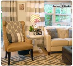appealing home interiro modern living room. Appealing White And Gray Horizontal Striped Curtains For Modern Living Room. Home » Decoration Interiro Room A