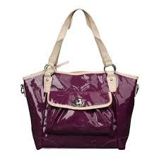 ... Lowest Price Coach Bleecker Riley Carryall Small Purple Satchels ECD  official sale online ...