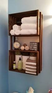 Ten genius storage ideas for the bathroom 81. Wooden Crates ...
