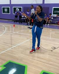 Image result for Renee Montgomery kids basketball camps