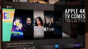 Apple TV app on LG smart TVs will now natively supports Dolby Atmos -  YouTube
