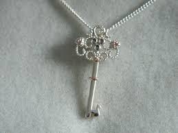 clogau silver rose welsh gold kensington key pendant rrp 139 00