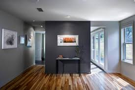 Warm Grey Living Room Dark Grey And Ligth Grey Colors In The Contemporary Living Room
