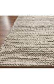 rugs usa textures handmade wool cable white rug