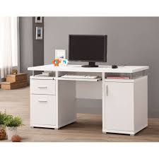 white office desk with drawers. Stylish White Office Desk With Drawers 800108 750x750