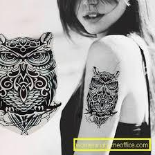 Sovy Tetování Po Ruce ženský časopis