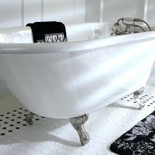 bathtub 54 inches long classic roll top petite inch cast iron tub with tub wall drilling bathtub 54