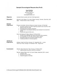 How To Write A Simple Resume Sample Gallery Creawizard Com