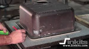 Sinkits How To Undermount A Sink In Granite Or Quartz Youtube