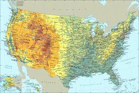 США география США Карта США