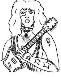 Small Picture Paul Stanley coloring pages for Diego Diego Pinterest Paul
