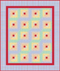 Beginner Log Cabin Block - Quilting Tutorial from ... & Beginner Log Cabin Block - Quilting Tutorial from ConnectingThreads.com Adamdwight.com