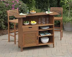 wood patio bar set. Outdoor Patio Bar Sets Home Design Wood Set I