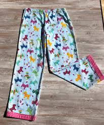 Jchc My Chart Pajamas For Scottie Dog Lovers Plus T Shirt P19