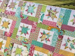 Lucky stars quilt pattern | SewMod & Lucky Stars Quilt Kits Adamdwight.com