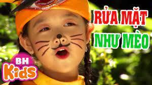 Rửa Mặt Như Mèo ♫ Bảo Ngọc ♫♫ Nhạc Thiếu Nhi Vui Nhộn Meo Meo Meo - YouTube