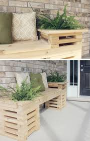 Pallet DIY Outdoor Bench Furniture