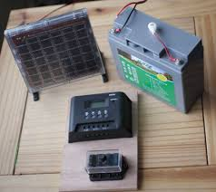 solar powered 12v lighting system transition ipswich solar panel battery charge controller and fuse board