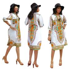 African Print Designs 2018 Us 10 21 12 Off 2018 New Design Women Seven Sleeve Autumn Dress Vestidos Sexy African Print Casual Straight Kaftan Knee Length Dress Ropa Mujer In